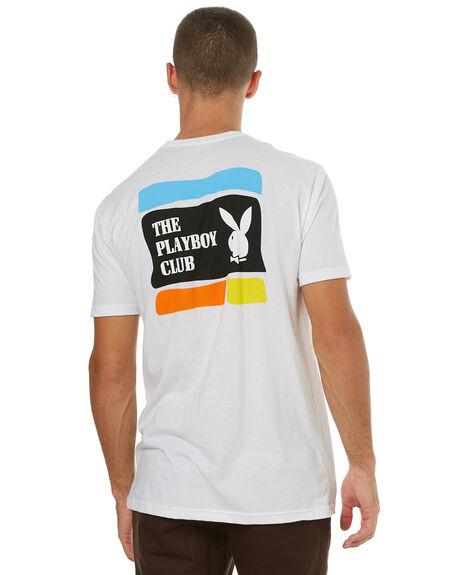 WHITE MENS CLOTHING GOOD WORTH TEES - TPC1711WHT