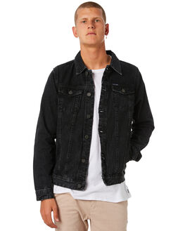 BLACK MENS CLOTHING ACADEMY BRAND JACKETS - 18W206BLK