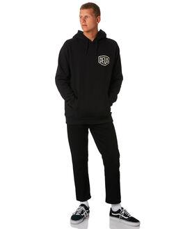 BLACK MENS CLOTHING DEUS EX MACHINA JUMPERS - DMW48675BBLK