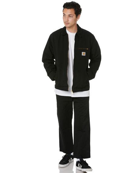 BLACK MENS CLOTHING CARHARTT JACKETS - I02646789