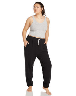 BLACK WOMENS CLOTHING VOLCOM PANTS - CB1111801BLK