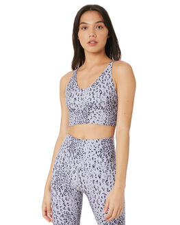 GREY SCALE LEOPARD WOMENS CLOTHING LORNA JANE ACTIVEWEAR - WS1019202GRLP