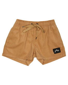 CAMEL KIDS TODDLER BOYS RUSTY SHORTS - WKR0220CAM