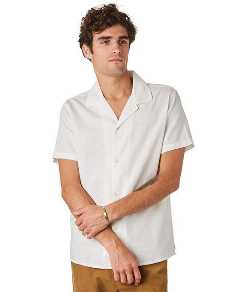 NATURAL WHITE MENS CLOTHING RHYTHM SHIRTS - JAN20M-WT01-WHT