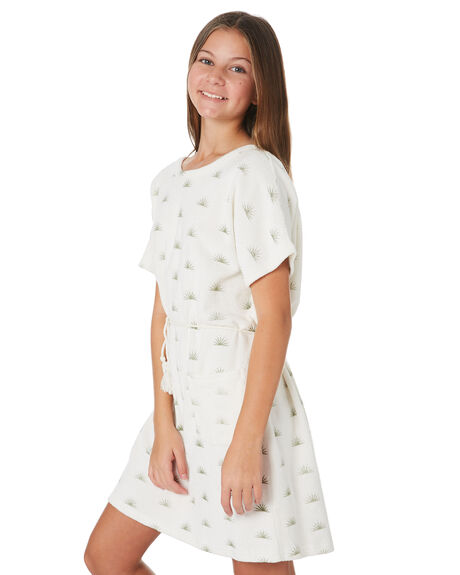 RISING SUN KIDS GIRLS FEATHER DRUM DRESSES + PLAYSUITS - FDG110RIS