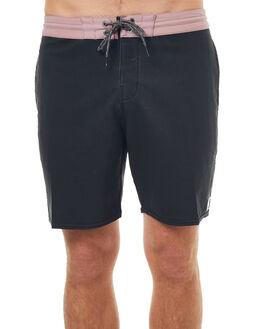 VINTAGE BLACK MENS CLOTHING BILLABONG BOARDSHORTS - 9572442VBC