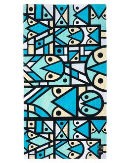 BLUE MENS ACCESSORIES SLOWTIDE TOWELS - ST158BLU