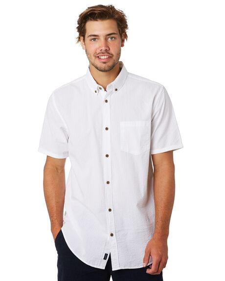 WHITE MENS CLOTHING ACADEMY BRAND SHIRTS - 20S837WHT