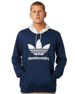 COLLEGIATE NAVY MENS CLOTHING ADIDAS JUMPERS - DH3879CNVY