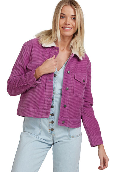 MULBERRY WOMENS CLOTHING RVCA JACKETS - R217435-M33