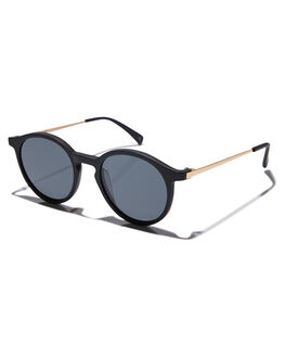 MATTE BLACK MENS ACCESSORIES OSCAR AND FRANK SUNGLASSES - 014MBMBLK