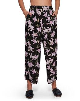 BLACK WOMENS CLOTHING BILLABONG PANTS - BB-6507402-BLK