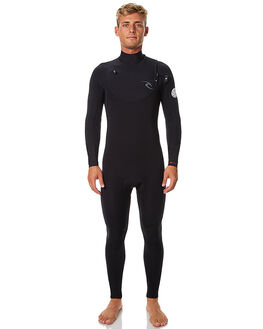 BLACK SURF WETSUITS RIP CURL STEAMERS - WSM6RM0090