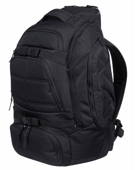 STRANGER BLACK MENS ACCESSORIES QUIKSILVER BAGS + BACKPACKS - EQYBP03488-KYG0
