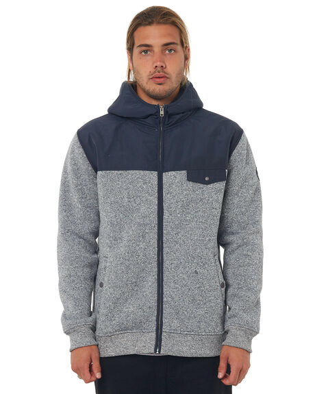 BLUE NIGHTS MENS CLOTHING QUIKSILVER JUMPERS - EQYFT03757BST0