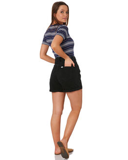 TEXAS BLACK WOMENS CLOTHING RIDERS BY LEE SHORTS - R-551687-D64