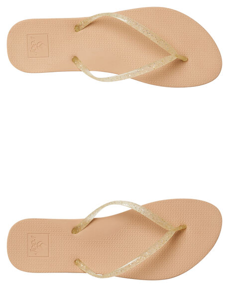 CHAMPAGNE OUTLET WOMENS REEF THONGS - A39UBCHN