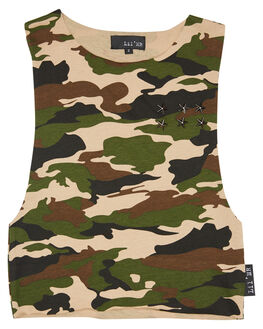 CAMO OUTLET KIDS LIL MR CLOTHING - LM-STDMSCLCAM