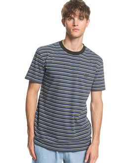 BLUE NIGHTS TABIRA MENS CLOTHING QUIKSILVER TEES - EQYKT03981-BST3