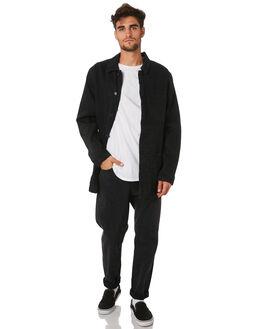 ZERO VINYL BLACK MENS CLOTHING NEUW JEANS - 333714748