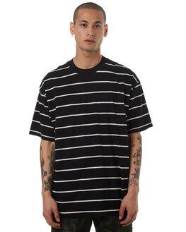 BLACK NATURAL MENS CLOTHING ZANEROBE TEES - 137-LYKMBLKN