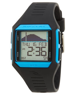 BLUE BLACK MENS ACCESSORIES RIP CURL WATCHES - A11243483