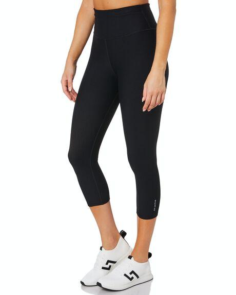 BLACK WOMENS CLOTHING DK ACTIVE ACTIVEWEAR - DK06-016-BLK-XS
