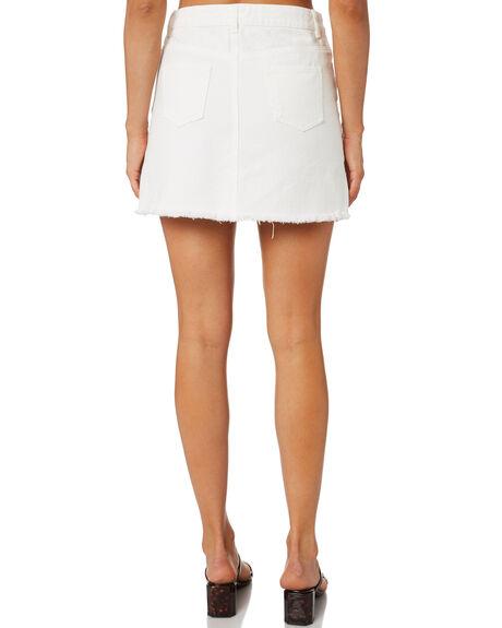 WHITE WOMENS CLOTHING TOBY HEART GINGER SKIRTS - T1391SWHT