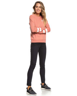 DESERT SAND WOMENS CLOTHING ROXY JUMPERS - ERJFT03887MKT0