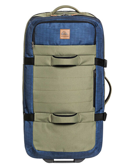 BURNT OLIVE MENS ACCESSORIES QUIKSILVER BAGS + BACKPACKS - EQYBL03183-GPZ0