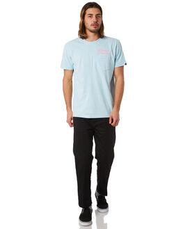 CRYSTAL BLUE MENS CLOTHING DEUS EX MACHINA TEES - DMF81403CCBLU