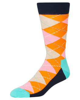 ORANGE MENS CLOTHING HAPPY SOCKS SOCKS + UNDERWEAR - ARY01-2700MULTI
