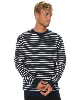 DIRTY DENIM MENS CLOTHING BANKS JUMPERS - WFL0077DDN