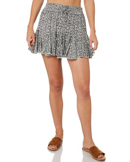 BLACK WOMENS CLOTHING BILLABONG SKIRTS - 6595527BLK