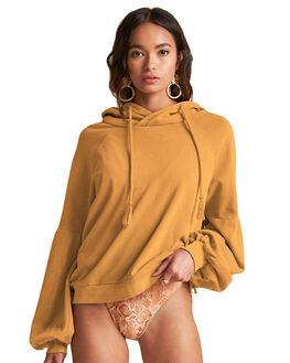 BURNT GOLD WOMENS CLOTHING BILLABONG JUMPERS - BB-6507755M-BU4
