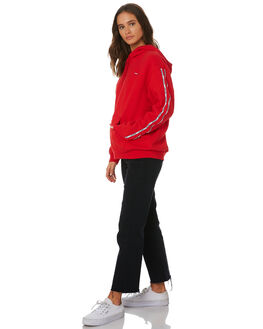 BRILLIANT RED WOMENS CLOTHING LEVI'S JUMPERS - 74318-00240024