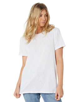 WHITE WOMENS CLOTHING SWELL TEES - S8201006WHI