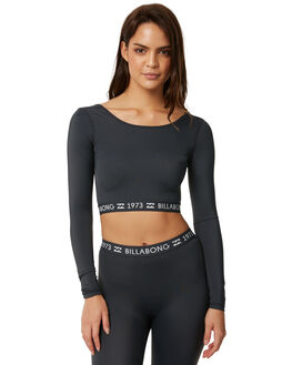BLACK SANDS SURF RASHVESTS BILLABONG WOMENS - 6772013BLKS
