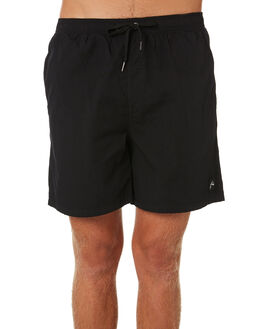 BLACK MENS CLOTHING RUSTY SHORTS - WKM0922BLK