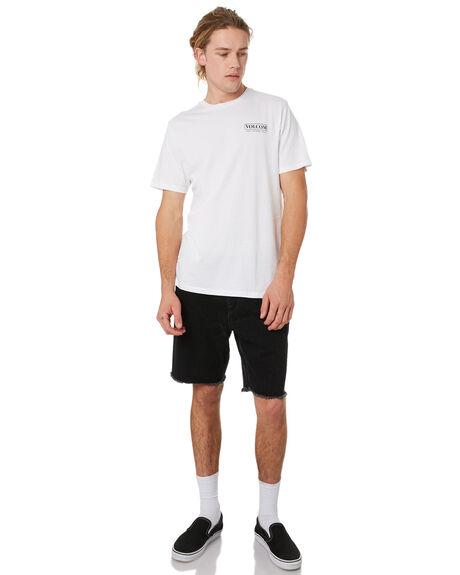 WHITE MENS CLOTHING VOLCOM TEES - A4341975WHT