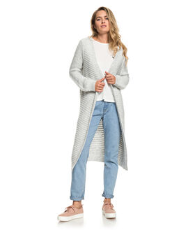 HERITAGE HEATHER WOMENS CLOTHING ROXY KNITS + CARDIGANS - ERJSW03321-SGRH