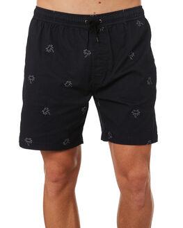 BLACK MENS CLOTHING SWELL BOARDSHORTS - S5182236BLACK