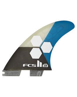 TEAL BOARDSPORTS SURF FCS FINS - FAML-PC02-FS-RTEAL1