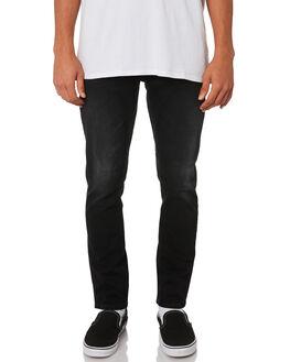 BLACK N GREY MENS CLOTHING NUDIE JEANS CO JEANS - 112952BNG