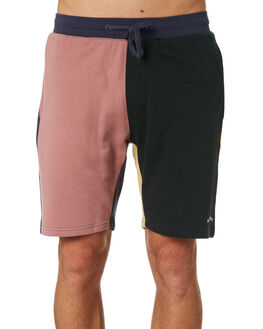 COLOUR BLOCK MENS CLOTHING BARNEY COOLS SHORTS - 601-CC2CBK