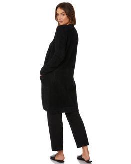 BLACK WOMENS CLOTHING ELWOOD KNITS + CARDIGANS - W92410BLK