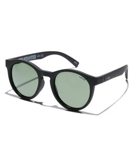 MATTE BLACK MENS ACCESSORIES LIIVE VISION SUNGLASSES - L0688AMBLK