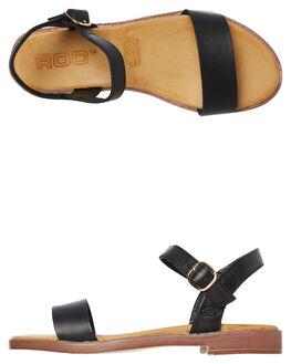 BLACK WOMENS FOOTWEAR ROC BOOTS AUSTRALIA FASHION SANDALS - LOTTOBLK