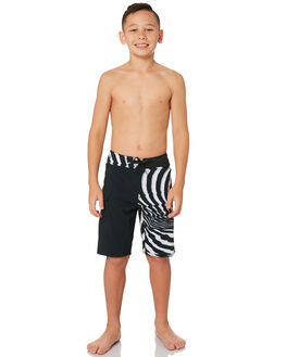 NEW BLACK KIDS BOYS VOLCOM BOARDSHORTS - C0831830NBK
