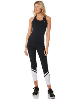 BLACK WOMENS CLOTHING LORNA JANE ACTIVEWEAR - 041906BLK